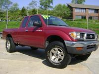 Options Included: N/A1997 Toyota Tacoma - 4 cylinder,