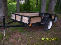 I have a 8 ft x 4 ft Heavy duty trailer for sale, it