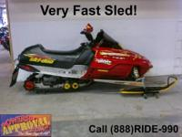 1997 used Ski-Doo MXZ 670 Ho - Snowmobile with only
