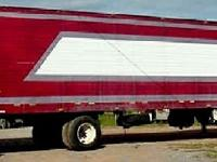 1997 Wabash refer trailer, 48 X 102, spread out axle,