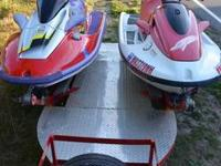 2 Jet Skis and Trailer - $3500 OBO-- Mill Creek