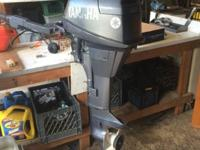 1997 4 stroke High thrust 9.9 hp Very good outboard