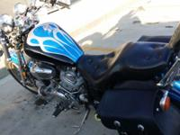 I am offering my 1997 Yamaha Virago 750. The only