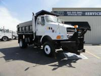 1997 Ford 1997 Ford 4X4 Dump Truck 1997 Ford 4X4 Heavy