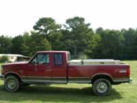 ?1997 Ford F 250 extended cab truck 4X4 with 7.3 liter