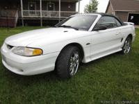 Make:  Ford Model:  Mustang Year:  1997 Body Style: