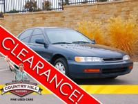 Options Included: N/AThis 1997 Honda Accord has been