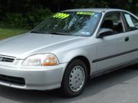 We have a nice 1997 Honda Civic DX for sale.4 cylinder