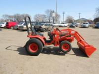 Kubota B2400 Power: Engine (gross): 24 hp ] PTO