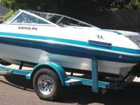 Marlin 180  18' sport boat. This boat has always been