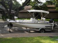 Very nice fishing or potential ski boat for sale. I