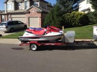 1997 Yamaha Waverunner GP 1200 and 1997 Waveventure