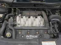 This is a Lincoln Continental Complete 4.6L DOHC front