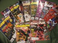 For sale are (13) Game Pro Magazines from 1998-1999.