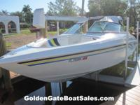 1998, 24' VIP VINDICATOR 2440 BOW RIDER Single Gas 7.4
