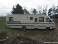 Beautiful motorhome offers a large living room/dining