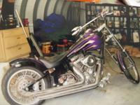 we are trying to sell this motorcycle that is in