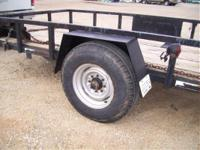 1998 Anderson Trailers HEAVY TILT BED 7000 LB AXLE