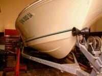 17 foot aqua sport with 115 hp evinrude motor. BRAND