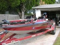 1998 ASTRO BASS BOAT Trailer included. 17' Astro Bass