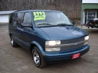 1998 Chevrolet Astro Van, easy on the gas, towing