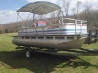 Need to sale my 1998, 18' Pontoon boat and 50 horse