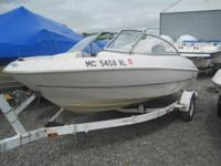 1998 Bayliner 1700 This boat is powered by a 90HP