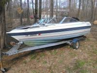 16 foot 1998 Bayliner Capri available for sale. Well