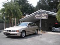 Options Included: N/A1 OWNER 1998 BMW 528i, GOLD WITH