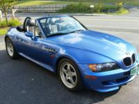 This Estoril Blue Roadster BMW Z3 is the ultimate