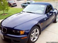 This 1998 BMW Z3 Roadster with the 2.8 liter 6 cylinder