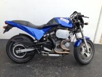 This is the 1998 Buell Cyclone,. It has been signed by