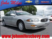 1998 Buick LeSabre Custom. 92k miles. Has the 3800 V6