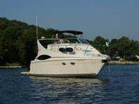 Properly maintained fresh water boat for family and