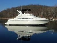 1998 Carver Santego 380 Flybridge Cruiser; Exceptional