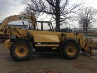 "1998 Caterpillar TH83 48"" Side TIlt Carriage 48"" Forks"