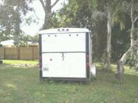 I have a white enclosed trailer with a round front, 2