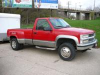 Options Included: N/AHere we have a clean 1-ton Dually.