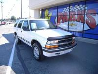 Options Included: N/AThis 1998 Chevrolet Blazer 4dr