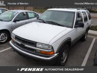 This 1998 Chevrolet Blazer 4dr LT 4x4 SUV features a