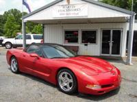 1998 Chevrolet Corvette Base 2 door convertible.
