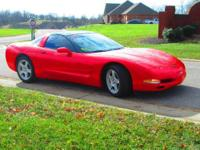 EXCELLENT CONDITION 1998 CHEVY CORVETTE COUPE IN TORCH