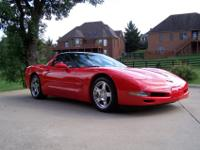 An immaculate garage kept car.This 1998 Corvette boasts