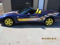1998 Chevrolet Corvette Pace Car Convertible In Pukwana Sd