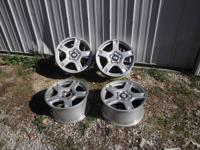 THIS IS AN ORIGINAL SET OF 4 CORVETTE WHEELS.