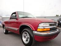 THIS 1998 CHEVROLET S-10 LS WAS JUST TRADED IN. THIS