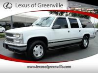 Options Included: Air Conditioning W/Rear Zone Cooling,