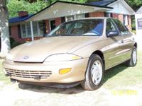 1998 CHEVY CAVALIER......4 DOOR SEDAN........2200 4