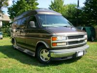 Up for sale is a 1 owner 1998 Chevy Conversion Van by