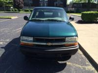 A compact pickup, the 1998 Chevrolet S-10 is a